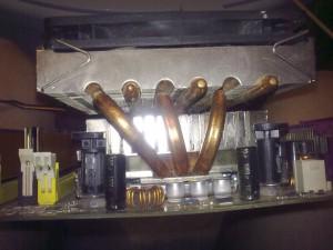 Кулер с тепловыми трубками
