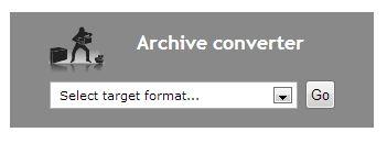 Конвертер архивов