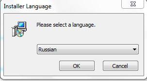 Unlocker выбор языка