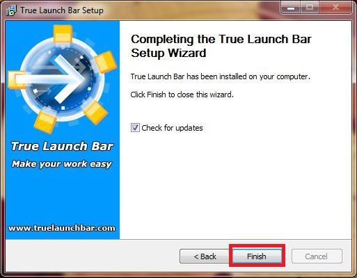 Установка True Launch Bar