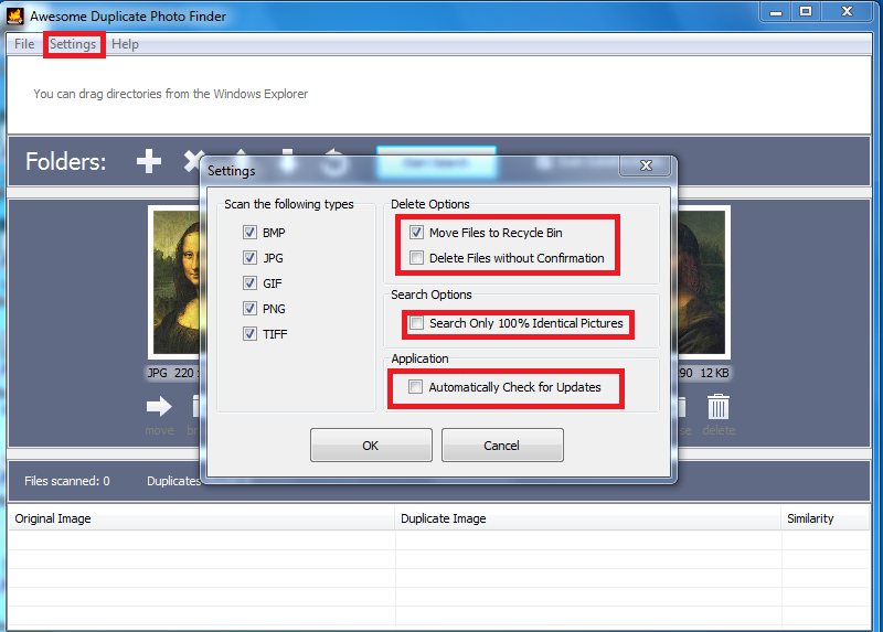 Awesome Duplicate Photo Finder