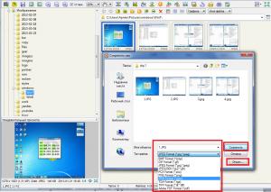 Сохранение файла FastStone Image Viewer