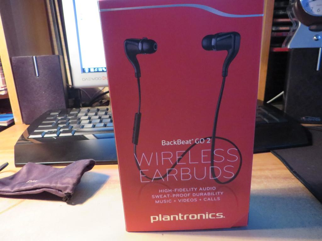 Коробка Plantronics BackBeat GO 2