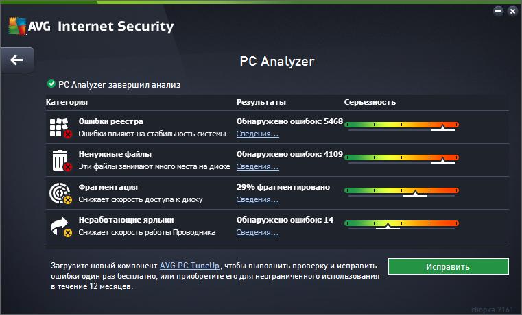 AVG Internet Security 2015 улучшение производительности