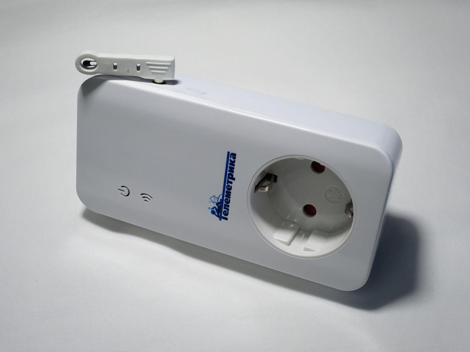 Умная GSM розетка Телеметрика. Установка температурного датчика.