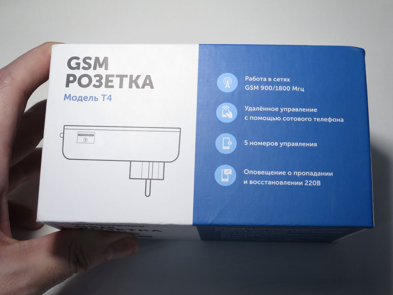 Умная GSM розетка Телеметрика
