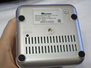 Дно IP видеокамеры Телеметрика