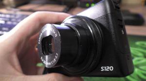 Canon S120. Кольцо управления