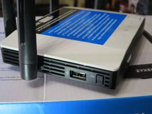 USB порт Zyxel Keenetic Extra II