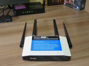 Антенны Wi-Fi роутера Zyxel Keenetic Extra II