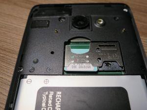 Как вставить симки в Micromax Q3551