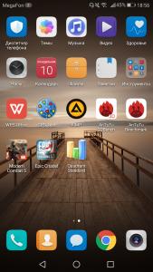Emotion UI 5 в Huawei Mate 9