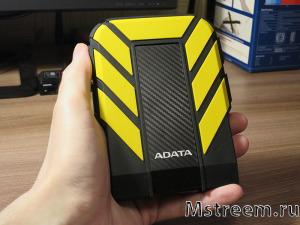 Внешний жёсткий диск с USB. Adata HD710 Pro