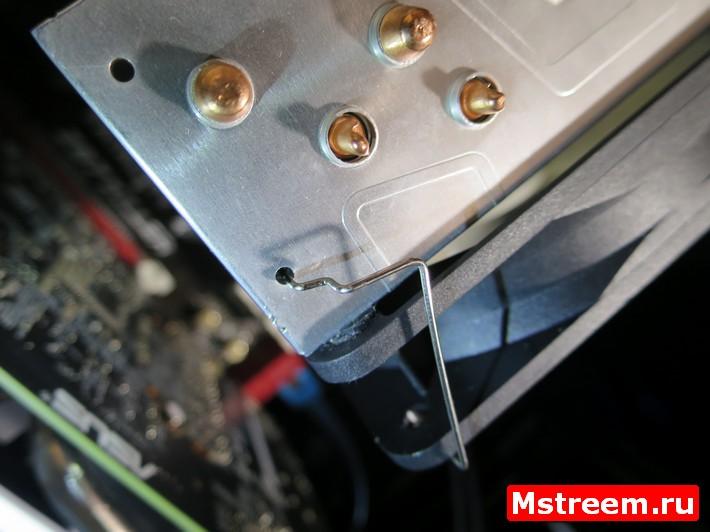 Крепёжные скобки для монтажа вентиляторов Arctic Freezer 33