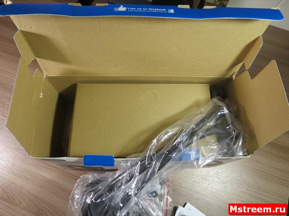 Комплект поставки водяного охлаждения Arctic Freezer 240