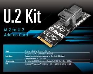 ASRock U.2 Kit