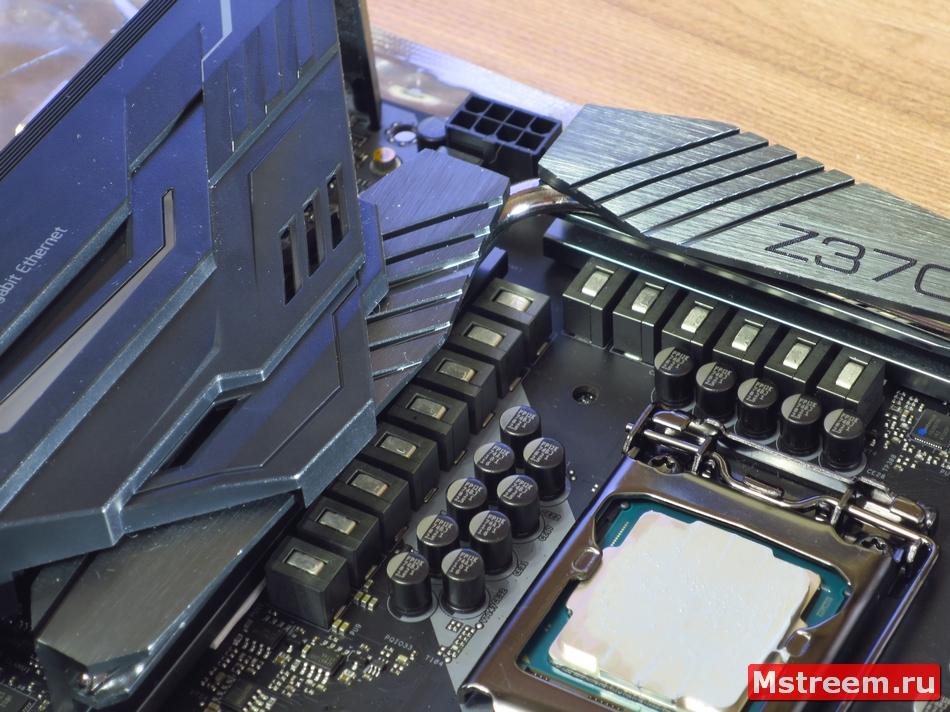 Устройство системы питания процессора. ASRock Fatal1ty Z370 Gaming K6