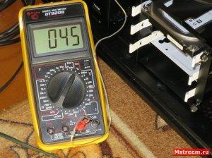Температура VRM (системы питания) материнской платы ASrock Fatal1ty Z370 Gaming K6  (Простой)