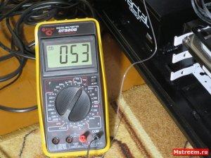 Температура VRM (системы питания) материнской платы ASrock Fatal1ty Z370 Gaming K6 (Нагрузка)