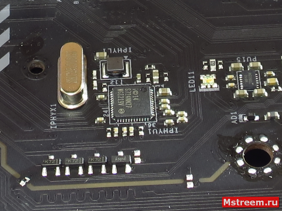 Intel I219V. ASRock Fatal1ty Z370 Gaming K6