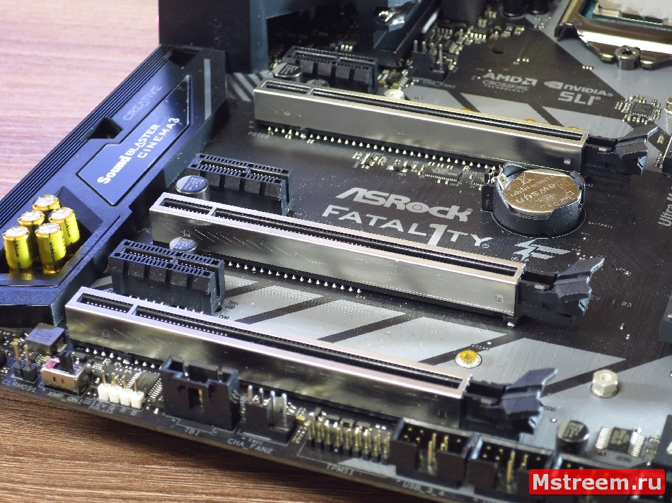 PCI-Express. ASRock Fatal1ty Z370 Gaming K6