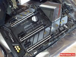 PCI-Express. ASRock Fatal1ty Z370 Gaming K6
