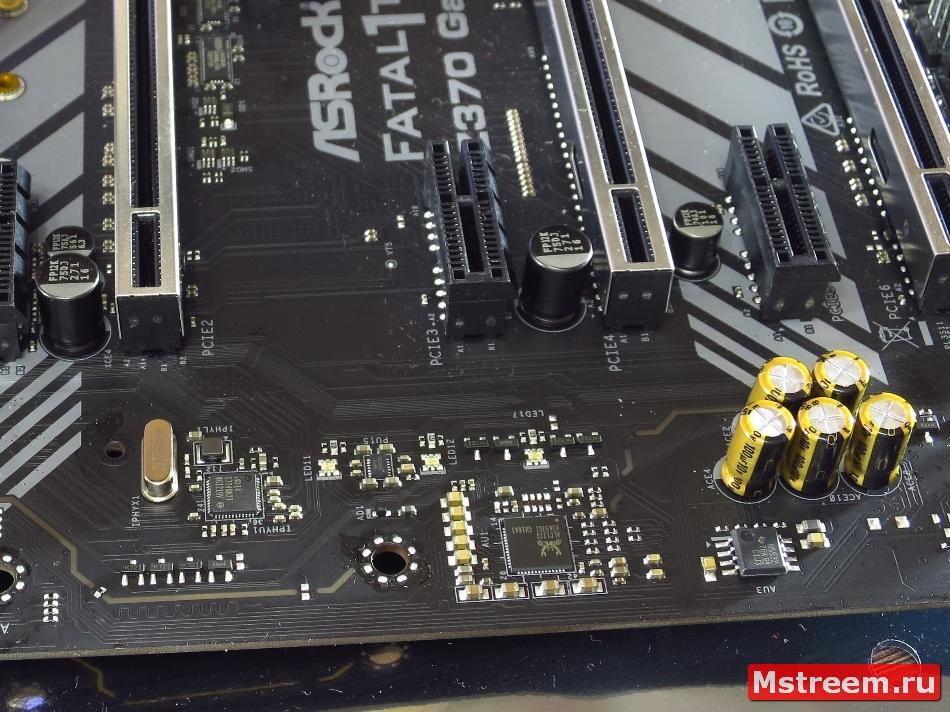 Realtek ALC1220. ASRock Fatal1ty Z370 Gaming K6
