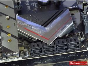 SATA3 6Гигабит. ASRock Fatal1ty Z370 Gaming K6