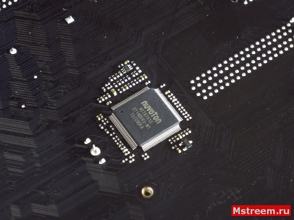 Мультиконтроллер Nuvoton NCT6791D. ASRock Fatal1ty Z370 Gaming K6