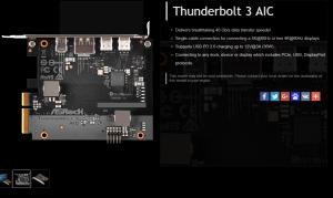 ASRock Thunderbolt 3 AIC