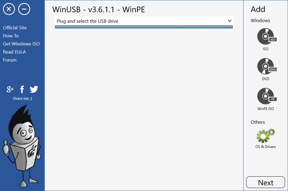 WinUSB. Как создать мультизагрузочную USB флешку с Windows