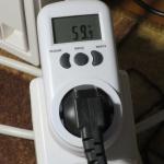 Энергопотребление GTX 1060 без нагрузки