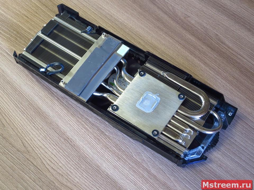 Кулер (система охлаждения) видеокарты Inno3D GTX 1070ti iChill X3