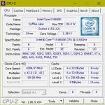 Калибровка цепи питания процессора (LLC Уровень 4) на материнской платы ASRock Fatal1ty Z370 Gaming-ITX/ac