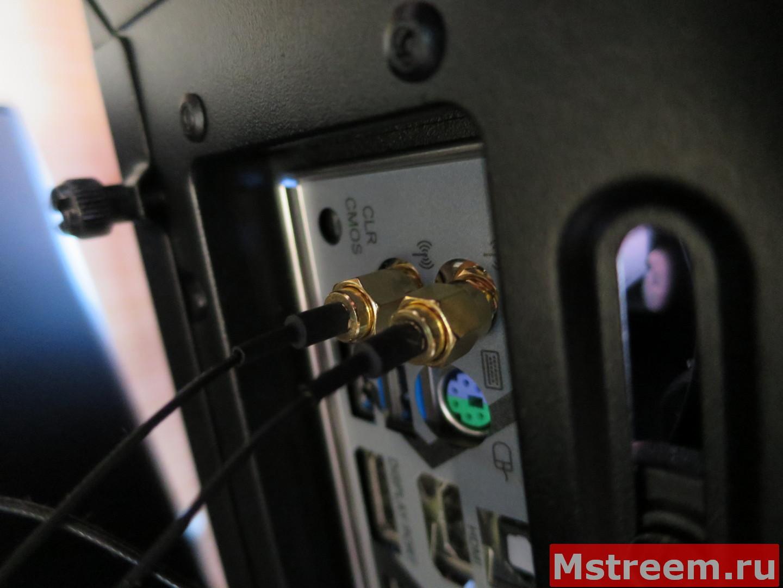 Wi-Fi и Bluetooth на материнской плате ASRock Fatal1ty Z370 Gaming-ITX/ac