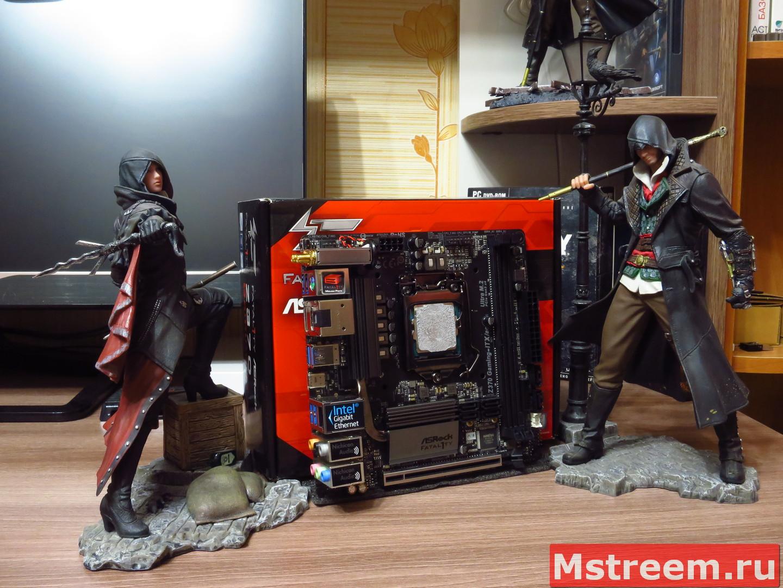 Материнская плата ASRock Fatal1ty Z370 Gaming-ITX/ac