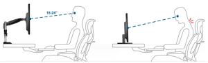 Осанка при работе за компьютером