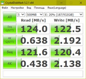 Скорость чтения и записи данных. Внешний жёсткий диск Freecom mHDD SLIM