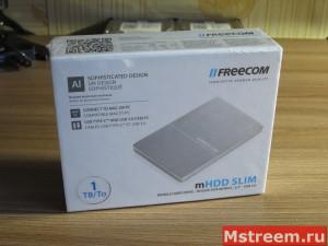 Упаковка внешнего жёсткий диск Freecom mHDD SLIM