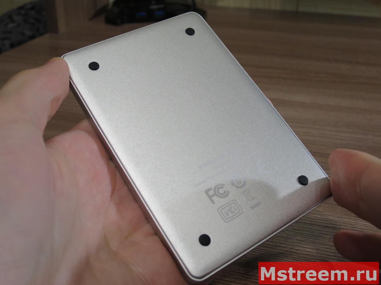 Тонкий внешний жёсткий диск Freecom mHDD SLIM