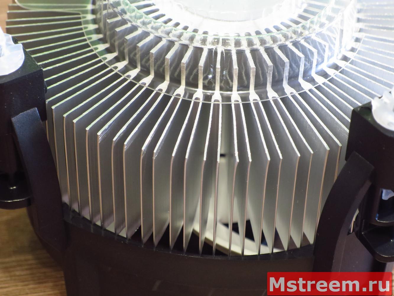 Конструкция кулера для процессора Arctic Alpine 12