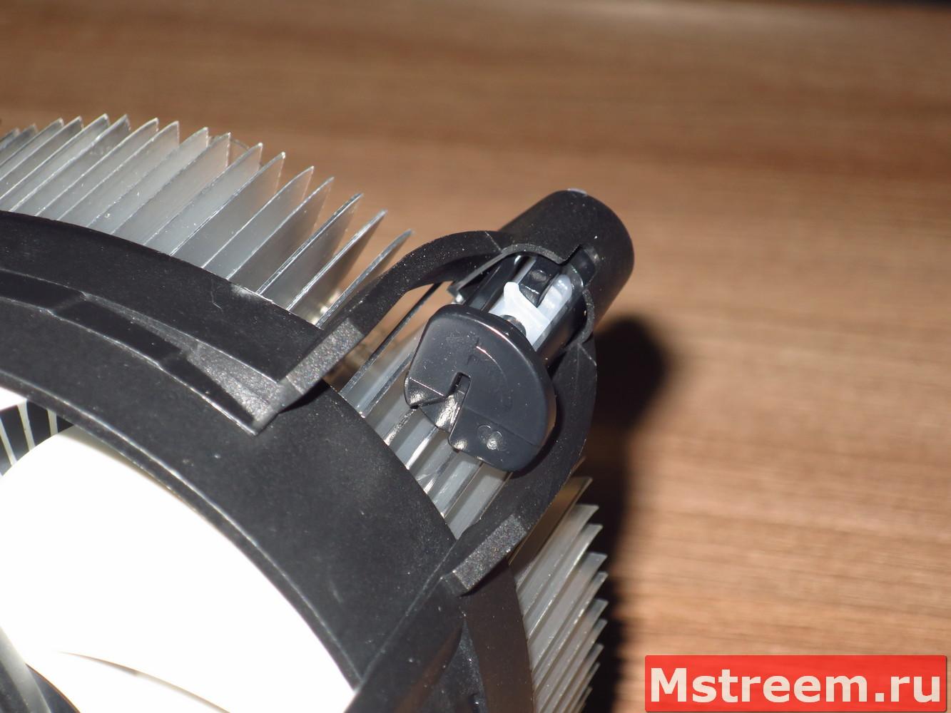 Установка кулера процессора Arctic Alpine 12