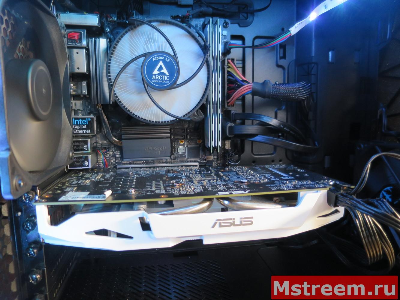 Обзор кулера для процессора Arctic Alpine 12