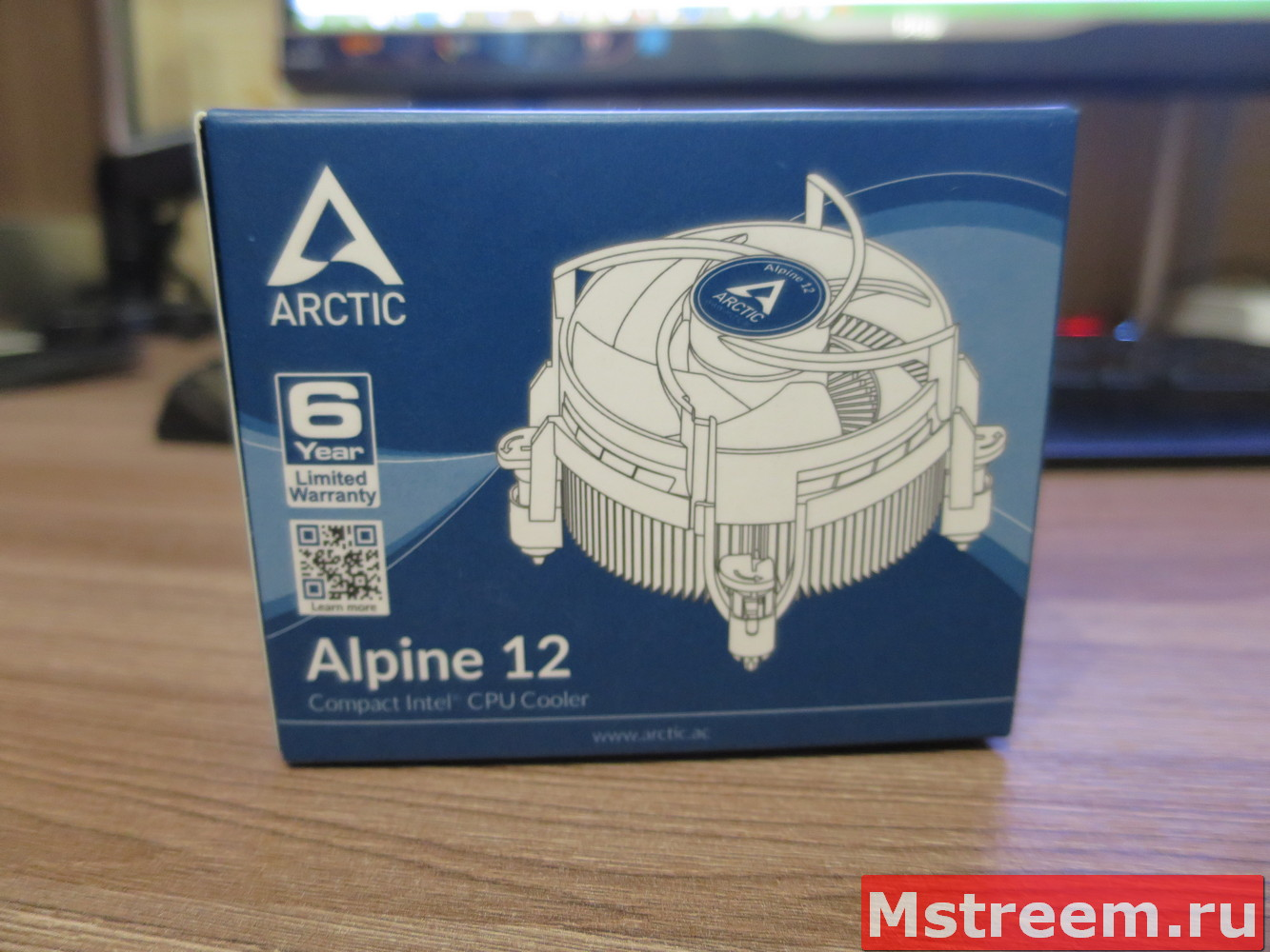 Кулер для процессора Arctic Alpine 12
