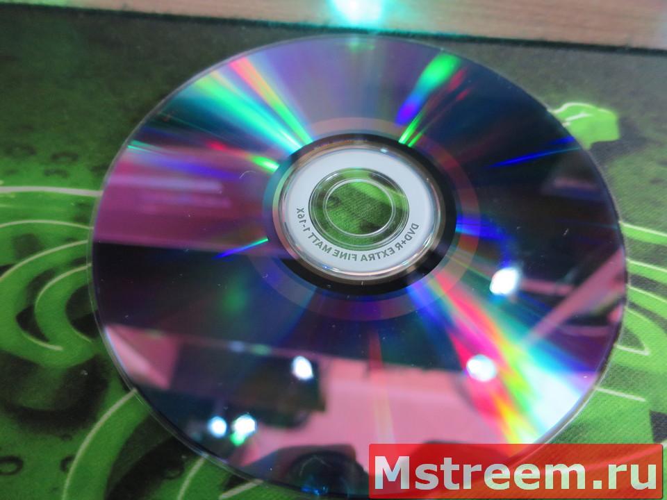Органический краситель на DVD+R
