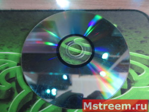 Халькогениды на поверхности диска DVD+RW