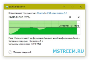 Запись на Micro SD карту памяти Verbatim Pro Micro SDHC UHS-I Class 3 (U3)
