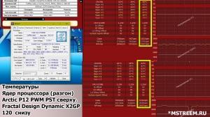 Охлаждение компьютера (разгон процессора), водянка и корпусные вентиляторы Artic Cooling