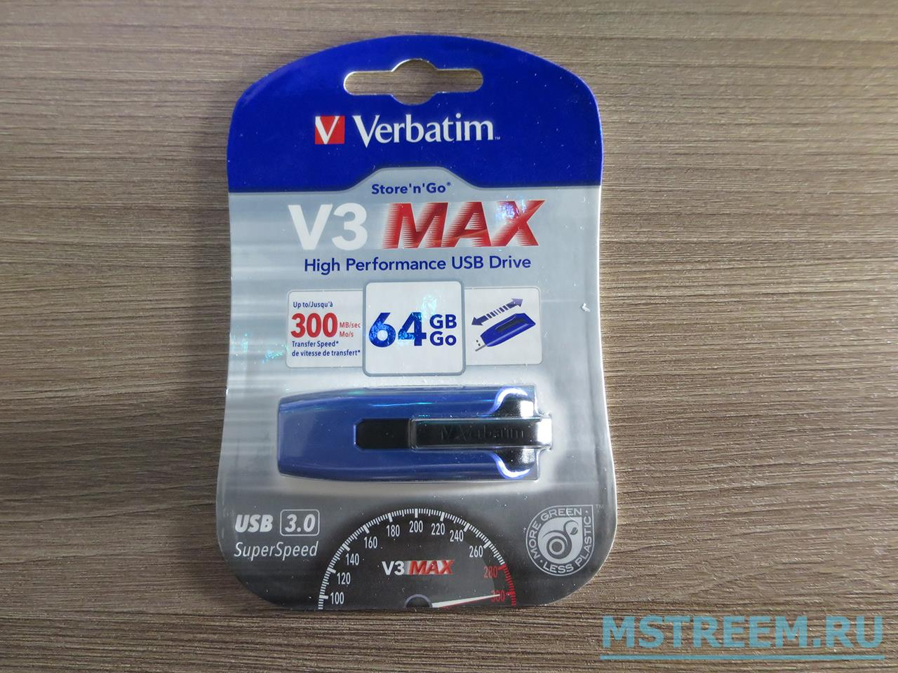 Флешка Verbatim V3 Max