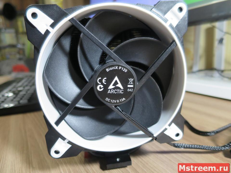 Вентиляторы BioniX P120 в кулере Arctic Freezer 34 eSports DUO